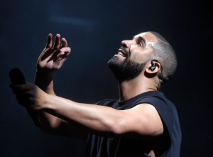In this Oct. 3, 2015, file photo, Drake performs at the Austin City Limits Music Festival at Zilker Park in Austin, Texas. (Photo by Jack Plunkett/Invision/AP, File)