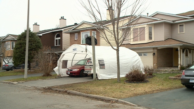 Shelters Drive Way : Ottawa homeowner told to tear down his car shelter ctv