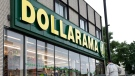 A Dollarama store is pictured in Montreal, June 11, 2013. (Paul Chiasson / THE CANADIAN PRESS)