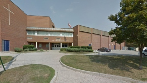 St. Luke Catholic School is seen in a photo from Google Street View.