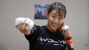 Vancouver-born Angela Lee in a photo from Twitter. (Twitter / @AngelaLee)