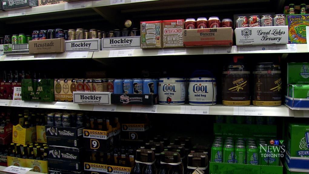 Alcohol sales, beer sales