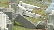 CTV Atlantic: Dozens of headstones vandalized