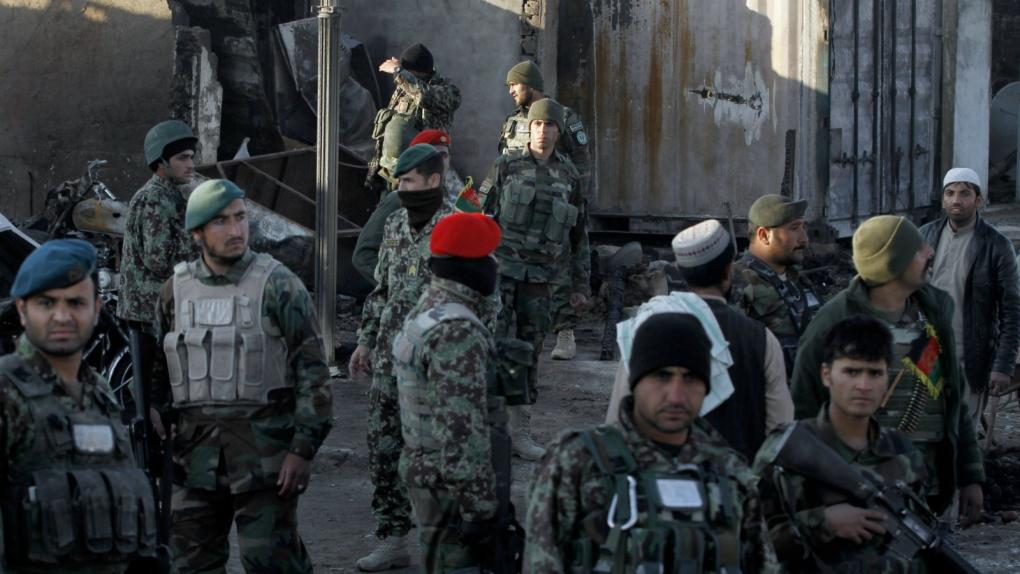 Afghan forces repel Taliban attack at airport