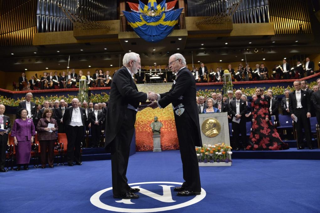 Arthur McDonald receives Nobel Prize for physics