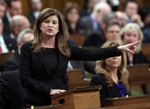 Leader of the Opposition Rona Ambrose asks a question during Question Period in the House of Commons on Parliament Hill in Ottawa, on Thursday, December 10, 2015. (THE CANADIAN PRESS / Fred Chartrand)