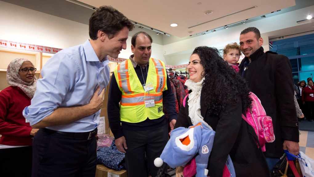 Syrians arrives in Canada