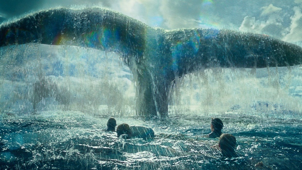This photo provided by Warner Bros. Pictures shows a scene from Warner Bros. Pictures' and Village Roadshow Pictures' action adventure film, 'In the Heart of the Sea.' (Warner Bros. Pictures)