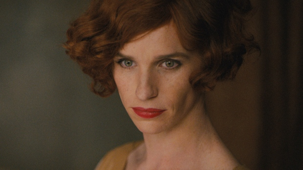 This photo provided by Focus Features shows, Eddie Redmayne as Lili Elbe, in Tom Hooper's 'The Danish Girl.' (Focus Features)