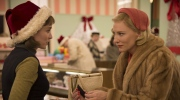 Rooney Mara, left, as Therese Belivet, and Cate Blanchett, as Carol Aird, in a scene from the film, 'Carol'. (Wilson Webb / The Weinstein Company)