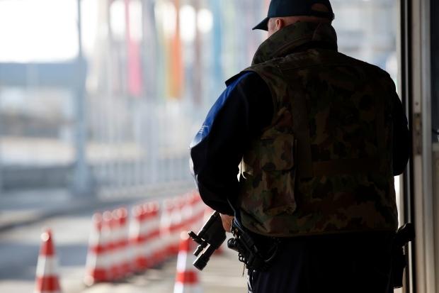 Swiss border guard