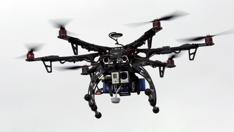 Saturday morning, North Bay police responded to a complaint about a drone flying in the West Ferris area of the city. (File)