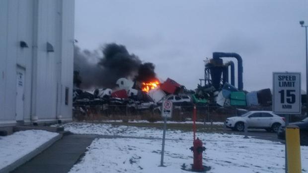 Industrial Metals fire
