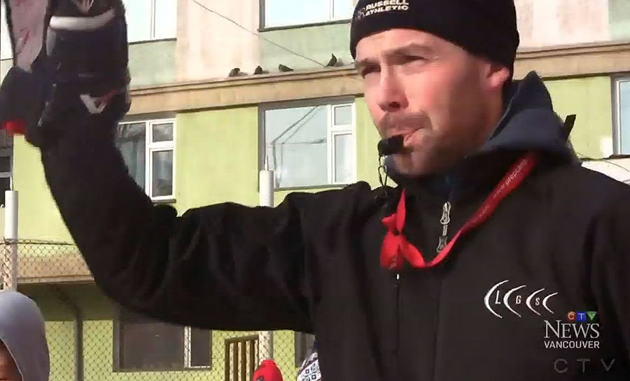 Hockey coach Nathan Leslie made a trip to Mongolia earlier this year to share Canada's national pastime.