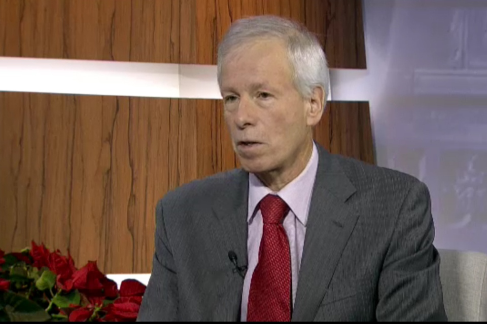 Foreign Affairs Minister Stephane Dion speaks on CTV's Question Period, airing Sunday, Dec. 13, 2015.