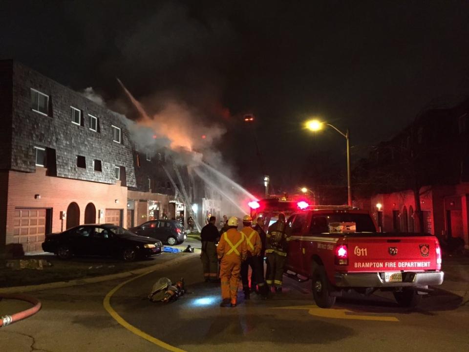 House fire in Brampton (Tom Podolec)