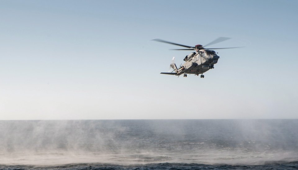 CH-148 Cyclone helicopter