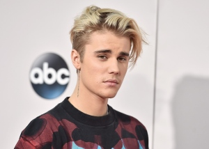 In this Sunday, Nov. 22, 2015 file photo, Justin Bieber arrives at the American Music Awards at the Microsoft Theater in Los Angeles. (Photo by Jordan Strauss/Invision/AP, File)