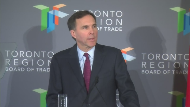 Finance Minister Morneau outlines middle tax cut