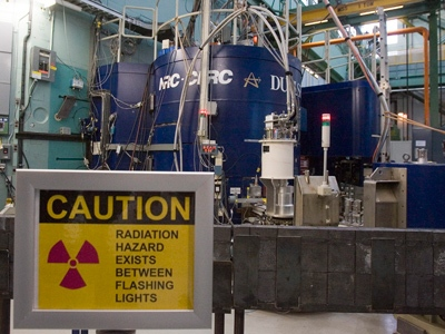The nuclear reactor at the Atomic Energy Canada Limited plant in Chalk River, Ontario, is shown in this photo taken on Wednesday, December 19, 2007. (THE CANADIAN PRESS / Fred Chartrand)