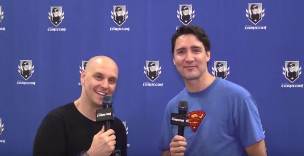 Trudeau discusses Star Wars at Comiccon