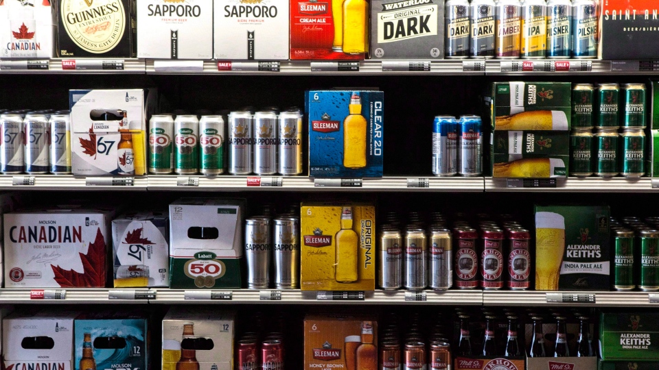 Beer in Ontario grocery stores
