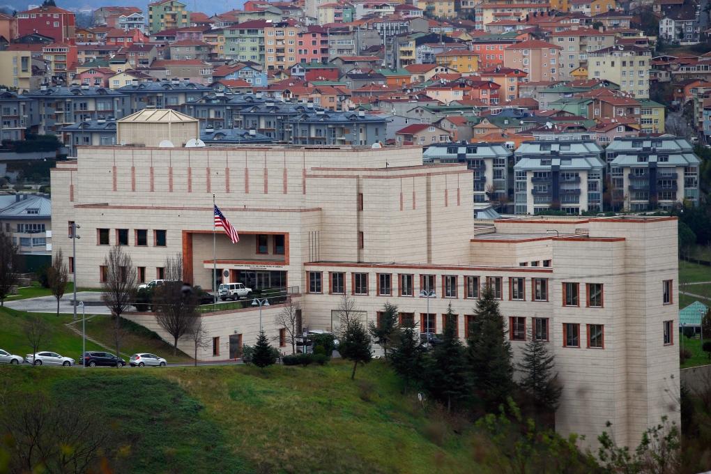 U. S. Consulate, Istanbul, Turkey