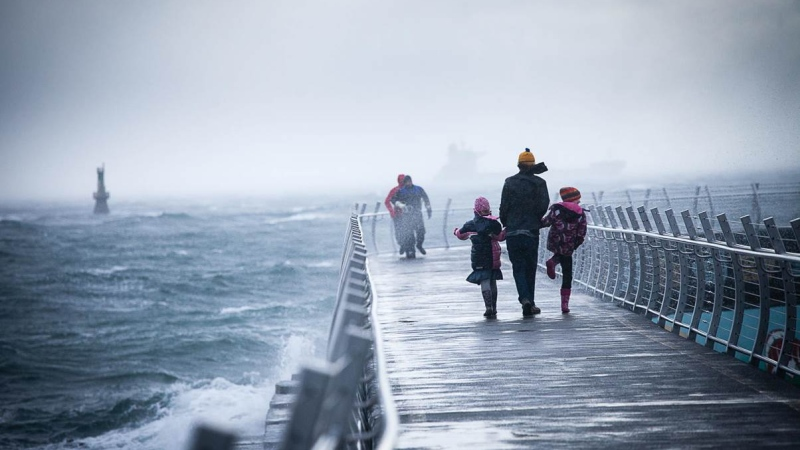 Wind warnings are in effect on both tips of Vancouver Island: Dec. 12, 2015. (TJWatt.com)