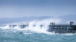 Nature photographer TJ Watt shot these incredible photos of storm-powered waves during a weekend windstorm at Ogden Point Breakwater and Clover Point on Saturday, Dec. 12, 2015. (TJWatt.com)
