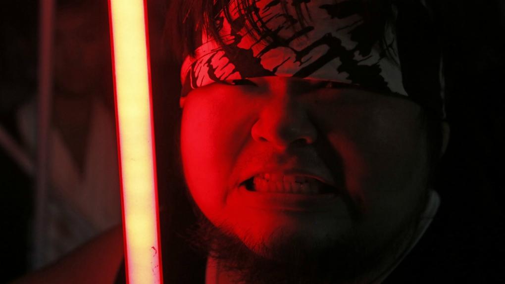 Star Wars fan designs replica lightsabers
