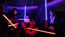 Fan replicas of lightsabers