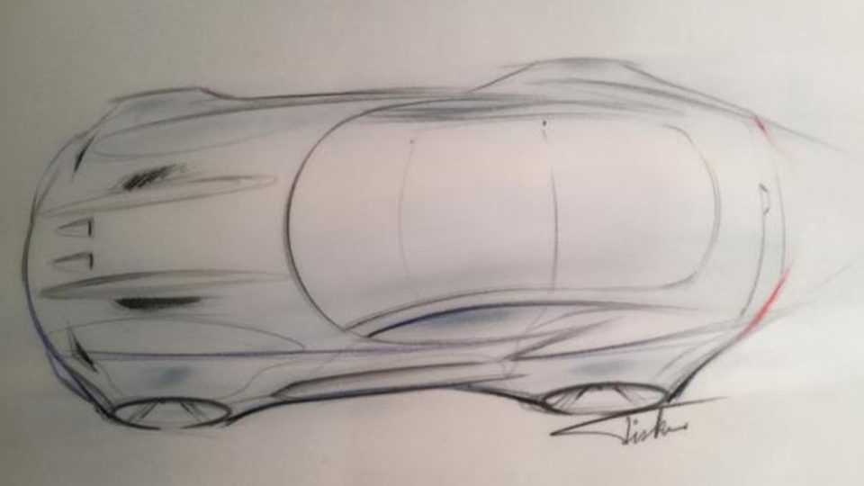 Henrik Fisker is teasing a new supercar for the Detroit show. (Photo from Henrik Fisker)