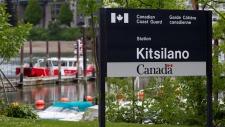 Coast Guard's Kitsilano Station in Vancouver