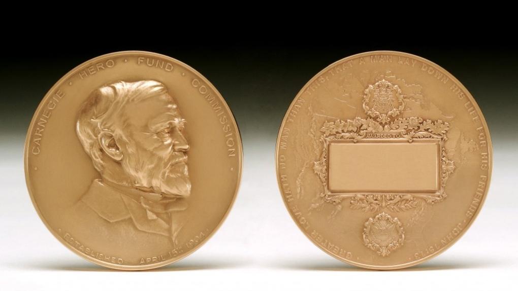Carnegie Medals in recognition of civilian heroism