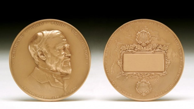 Carnegie Medals in recognition of civilian heroism