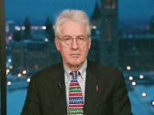 Liberal Senator Wilfred Moore speaks on Canada AM from CTV's studios in Ottawa, Friday, Dec. 12, 2008.