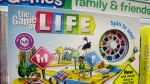 The Hasbro board game 'The Game of Life' rests on a shelf in a toy store in North Attleboro, Mass. on Wednesday, Nov. 11, 2015. (AP / Steven Senne)