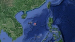 The South China Sea is pictured in this Google map.