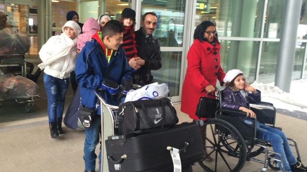 Syrian refugee families begin a new life in Winnipeg.
