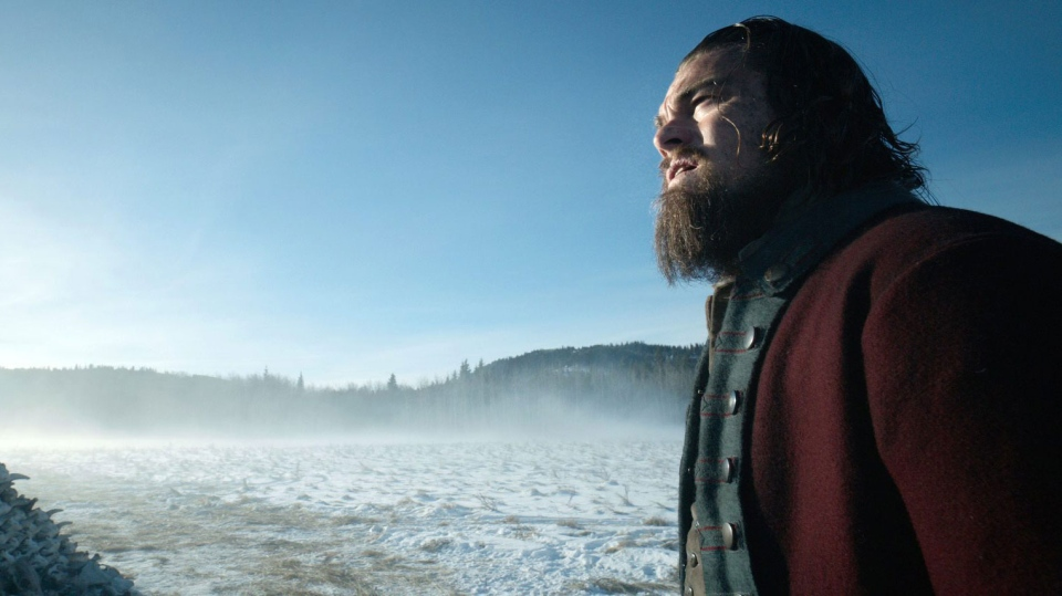 Leonardo DiCaprio in a scene from the film, 'The Revenant.' (Twentieth Century Fox)