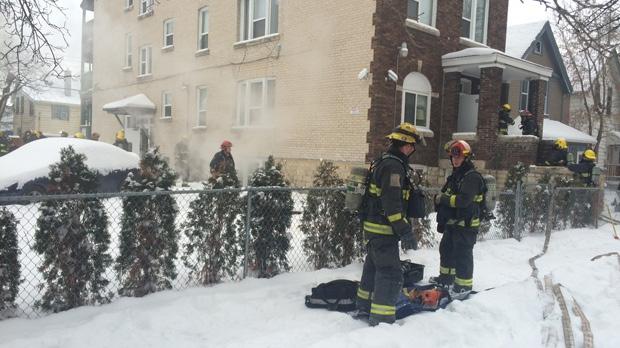 Toronto Street fire