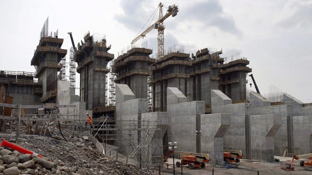 Hydroelectric facility construction, Muskrat Falls