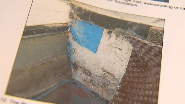 According to the engineering report, water could have seeped into the basement due to a lack of moisture control measures.