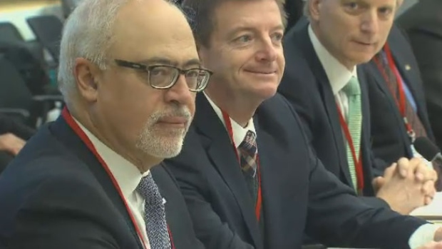 Quebec Finance Minister Carlos Leitao