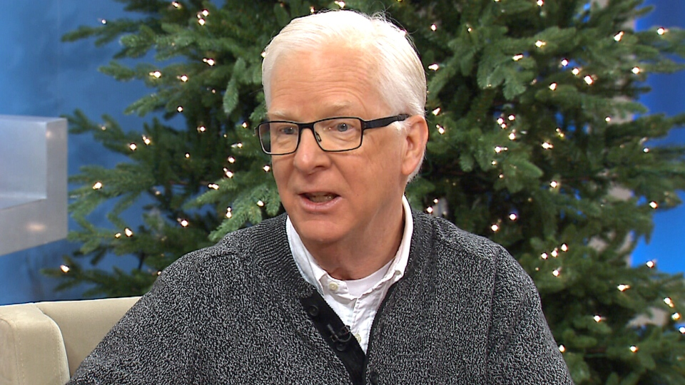 Environment Canada senior climatologist David Phillips appears on Canada AM, Tuesday, Dec. 22, 2015.