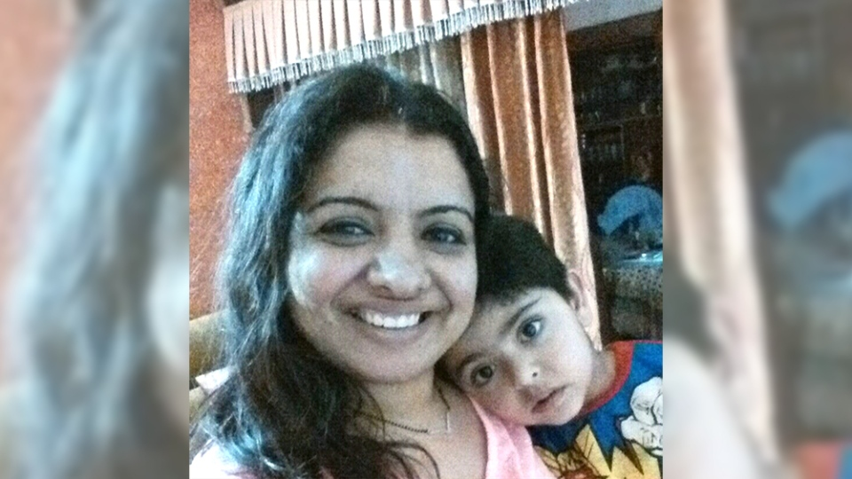 Bhavna Bajaj is pictured with her son, Daksh, in this provided photo. (Photo provided by Bhavna Bajaj)