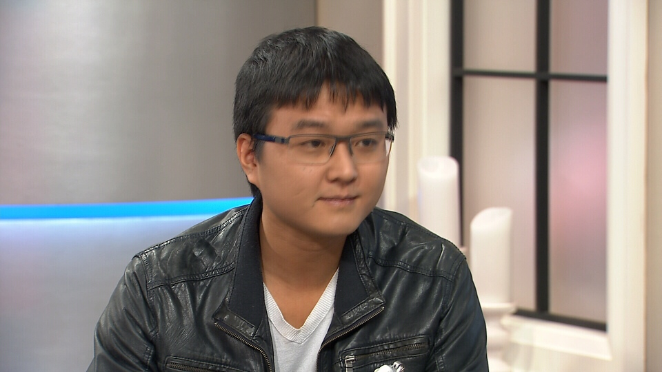BuzzClip inventor Bin Liu speaks to Canada AM on Dec. 23, 2015.