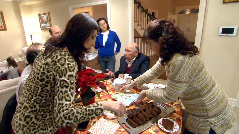 The Panossian family prepares to spend their first Christmas together in 15 years.