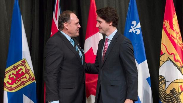 PM Justin Trudeau & Yukon Premier Darrell Pasloski