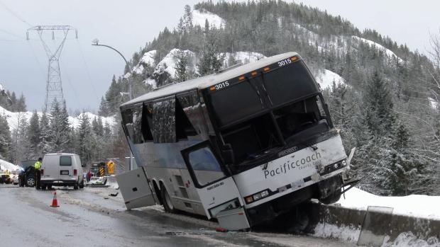 Car Crash Highway  Squamish